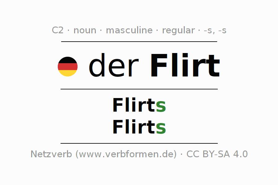 Flirt Konjugieren. Dating site lovoo.